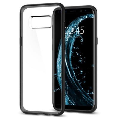 Spigen Galaxy S8 Plus Kılıf Ultra Hybrid - Matte Black