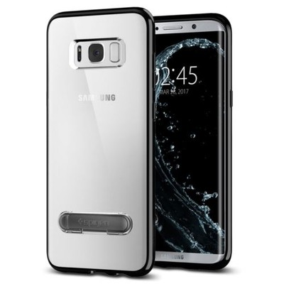 Spigen Galaxy S8 Plus Kılıf Ultra Hybrid S - Crystal Clear