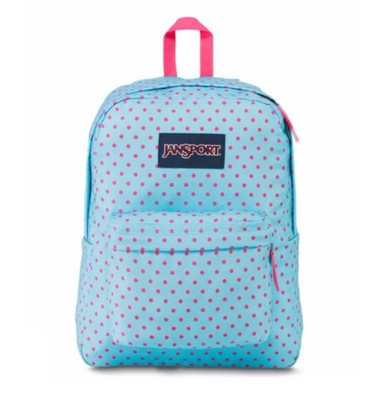 Jansport Sb.Lpstıck Kssdtrm Blue Dot