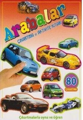 Arabalar-Çıkartma ve Aktivite Kitabı