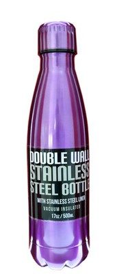 GP-Double Stell 500Ml Mor Matara 1342