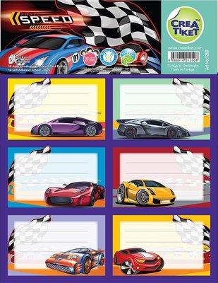Crea Etiket Hızlı Arabalar 1250