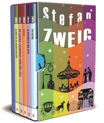 Stefan Zweig Seti-5 Kitap Takım Kutulu