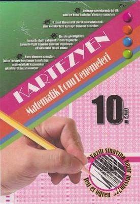 10.Sınıf Matematik Kartezyen Konu Denemeleri 20 Adet