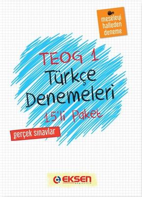 8. Sınıf Türkçe Denemeleri 1. Dönem 15 Adet