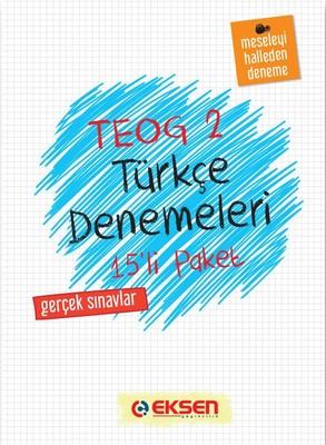 8. Sınıf Türkçe Denemeleri 2. Dönem 15 Adet