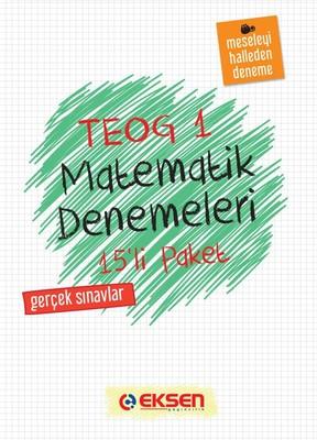 8. Sınıf Matematik Denemeleri 1. Dönem 15 Adet