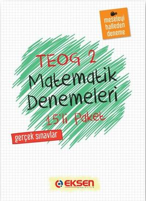 8. Sınıf Matematik Denemeleri 2.Dönem 15 Adet
