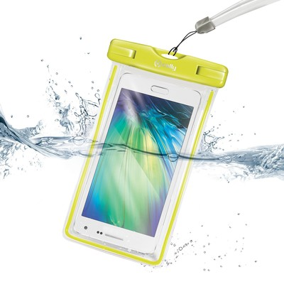 Celly X-Large Waterproof Case for Smartphone