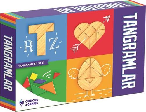 Curious&Genius 1069 Pal Tangram Set Eğitci Kutu Oyunu