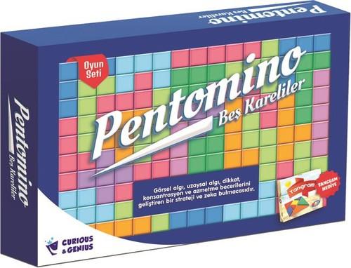 C&G-Kutu Oyn.Pal Pentomino Set 1070