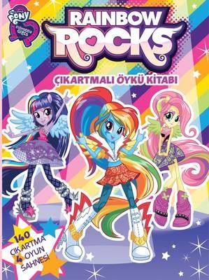 My Little Pony Rainbow Rocks Çıkartmalı Öykü Kitabı