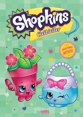 Shopkins Cicibiciler Yeşil Çıkartmalı Aktivite