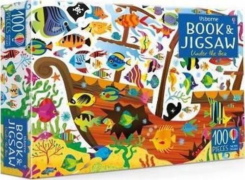 Usborne Jigsaw with a Book: Under the Sea