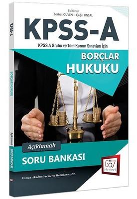 KPSS-A Borçlar Hukuku Açıklamalı Soru Bankası
