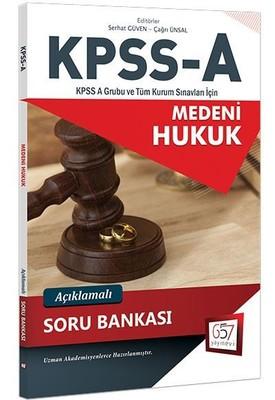KPSS A Medeni Hukuk Açıklamalı Soru Bankası