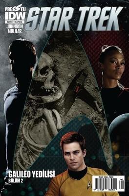 Star Trek Sayı 4 Kapak A-Çizgi Roman Dergisi