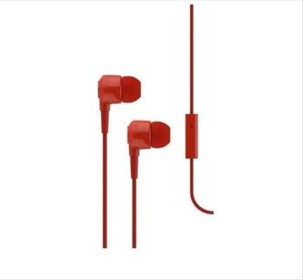 ttec 2KMM10K J10 Mikrofonlu Kulakiçi Kulaklık 3.5mm - Kırmızı