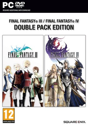 PC FINAL FANTASY III - IV DOUBLE PA