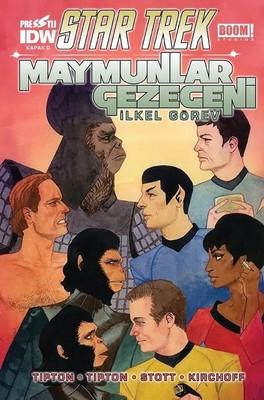 Maymunlar Gezegeni-Kapak D