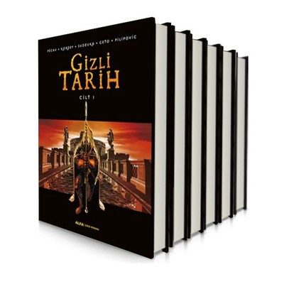 Gizli Tarih Çizgi Roman Seti - 6 Kitap Takım