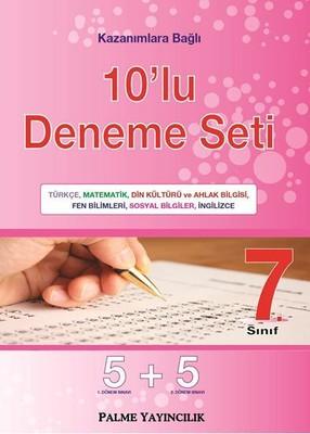 7. Sınıf 10'lu Deneme Seti