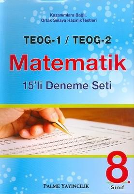 8. Sınıf TEOG 1-TEOG 2 Matematik 15'li Deneme Seti