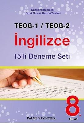 8. Sınıf TEOG 1-TEOG 2 İngilizce 15'li Deneme Seti