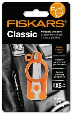 Fiskars- Klasik Katlanabilir 11cm Makas