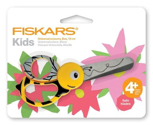 Fiskars -Kids Animals Bee 13cm Makas
