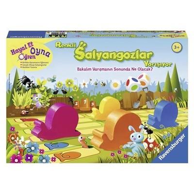 Ravensburger Renkli Salyangozlar Yarışıyor Kutu Oyunu