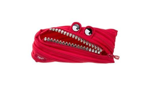 Zipit Grillz Monster Pouch Kırmızı