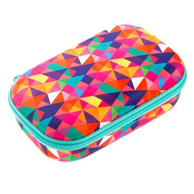 Zipit Colorz StorageB ox Colorful Triangles Kalemkutu