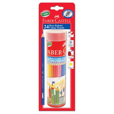 Faber Castell Tüp Boya Seti 24 Renk