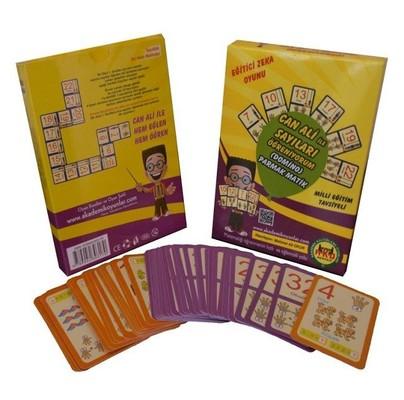 Eğitici Zeka Oyunu-Can Ali ile Sayıları Öğreniyorum Domino