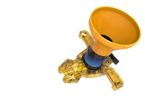 Optimorphs Sarı Disk Fırlatıcı Set