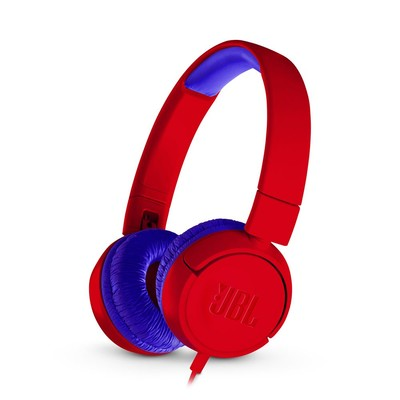JBL JR300 Kulaküstü Çocuk Kulaklığı OE Mavi-Kırmızı