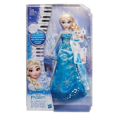 Disney Frozen Elsanın Müzikli Elbisesi C0455