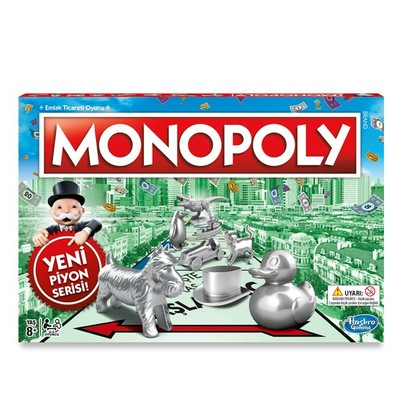 Monopoly Standart Yeni Piyon Serisi C1009