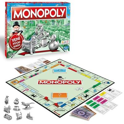 Hasbro Monopoly C1009 Standart Yeni Piyon Serisi Kutu Oyunu