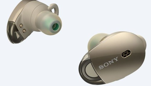 Sony Kulakiçi Noise Cancelling Bluetooth Kulaklık Altın WF1000XN