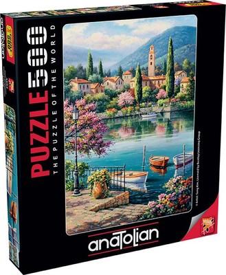 Anatolian Puzzle 500 Parça Gölde Akşamüstü 3597
