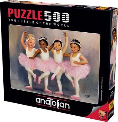 Anatolian Puzzle 500 Parça Minik Balerinler 3598