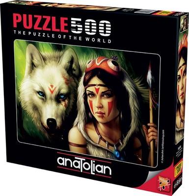 Anatolian 3600 Savaşçı Prenses 500 Parça Puzzle
