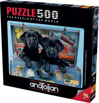 Anatolian Puzzle 500 Parça Gezgin Köpekler 3601