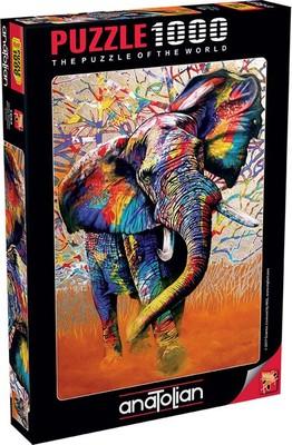 Anatolian Puzzle 1000 Parça Afrika Renkleri 1054