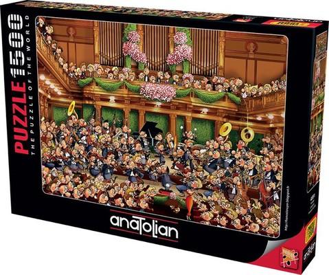 Anatolian Puzzle 1500 Parça Konser 4551