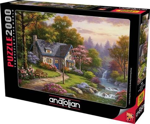 Anatolian 3940 Şelaleli Konak 2000 Parça Puzzle