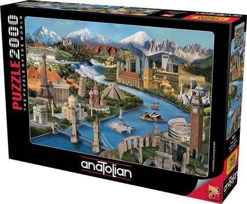 Anatolian Puzzle 2000 Parça Simge Yerler 3941