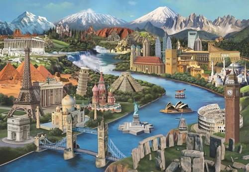 Anatolian 3941 Simge Yerler 2000 Parça Puzzle
